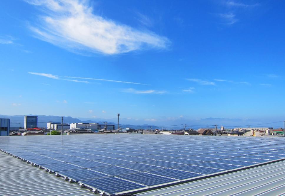 屋根置き型発電設備